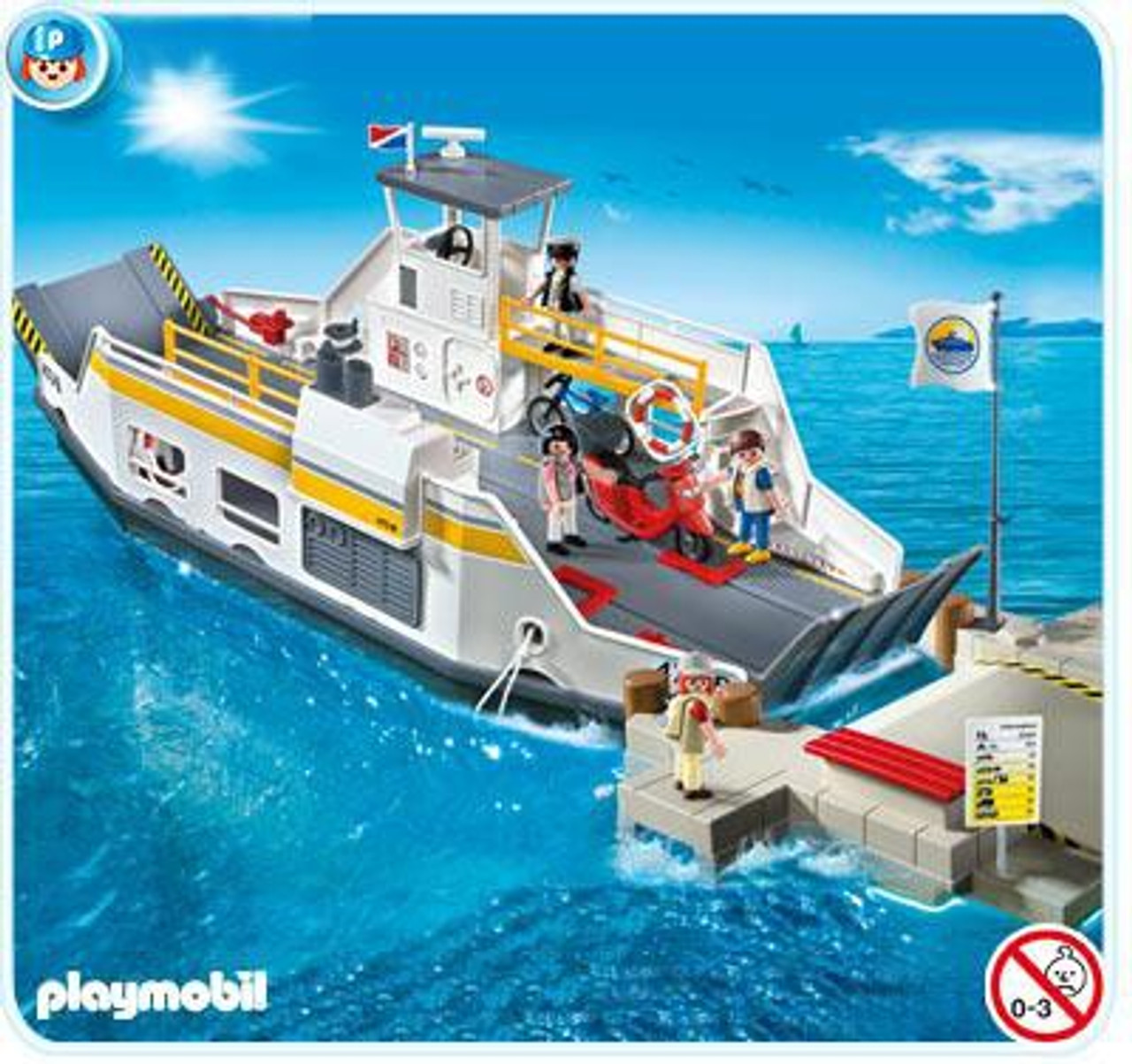 Playmobil Harbor Car Ferry with Pier Set #5127