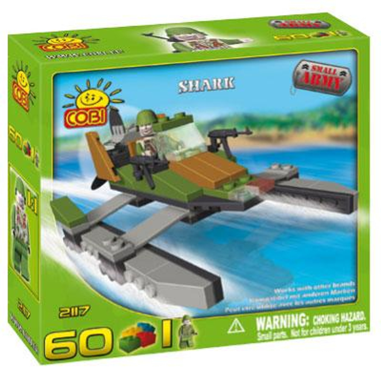 COBI Blocks Small Army Shark Set #2117