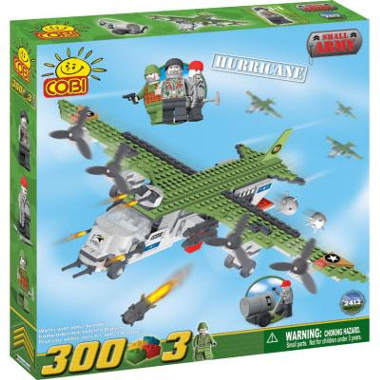 COBI Blocks Small Army Hurricane Set #2413
