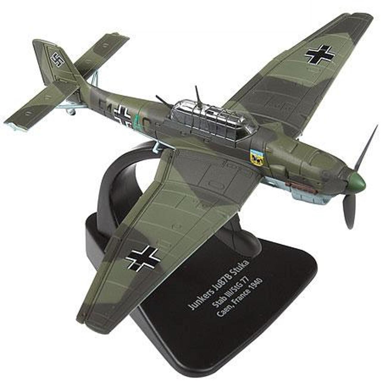 Forces of Valor s of Valor 1:72 Enthusiast Series Planes German Junkers Ju87B Stuka