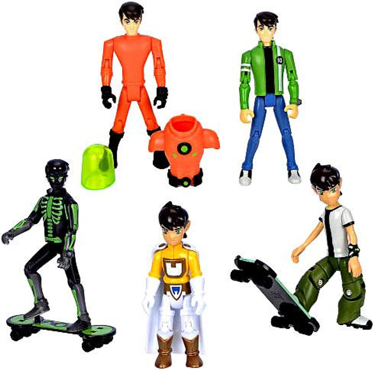 Ben 10 Ben Tennyson Exclusive Action Figure 5-Pack #1