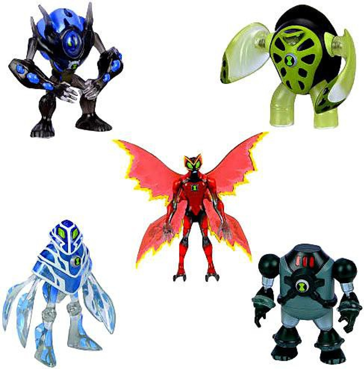Ben 10 Alien Exclusive Action Figure 5-Pack #2