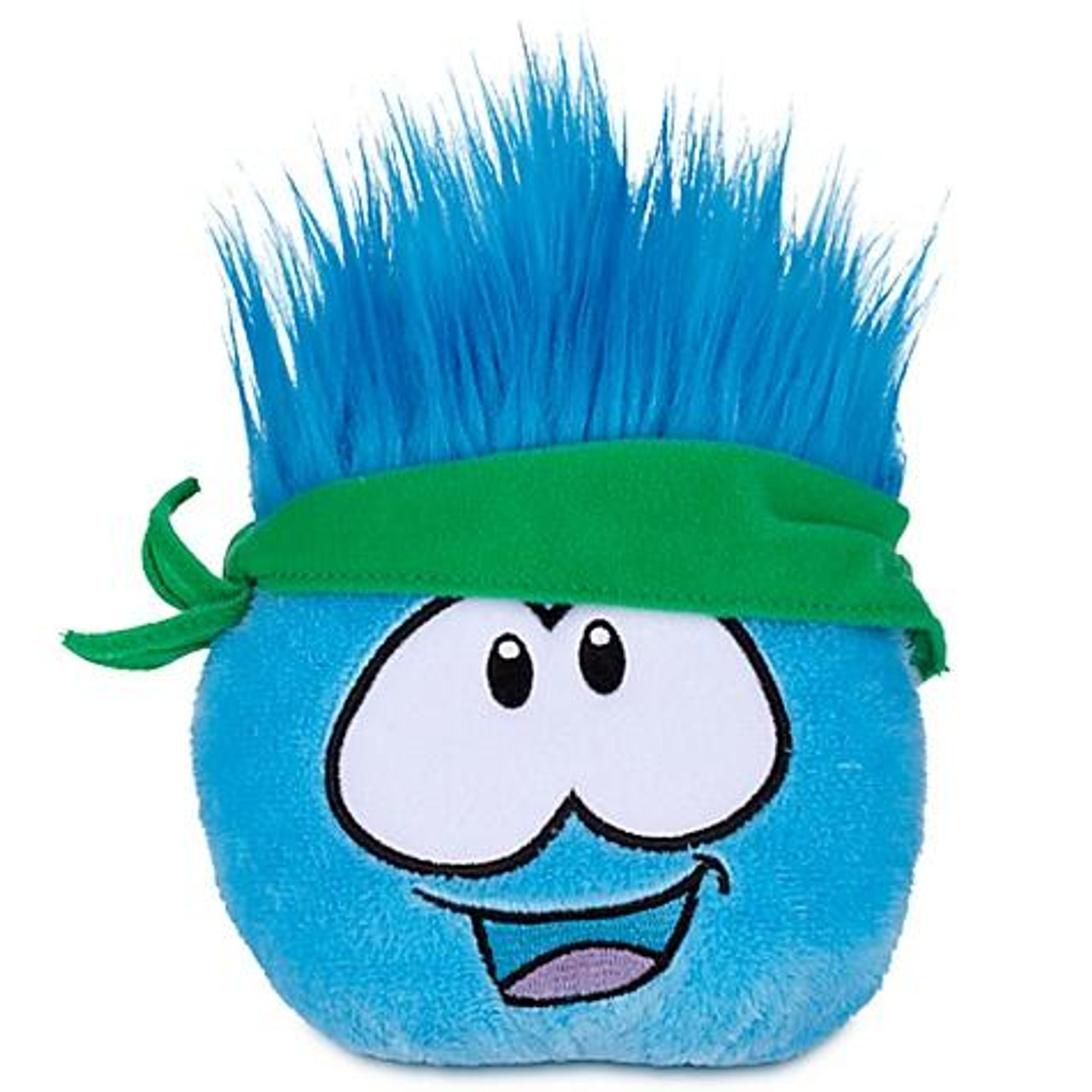 Club Penguin Series 12 Blue Puffle 4-Inch Plush [Bandana]