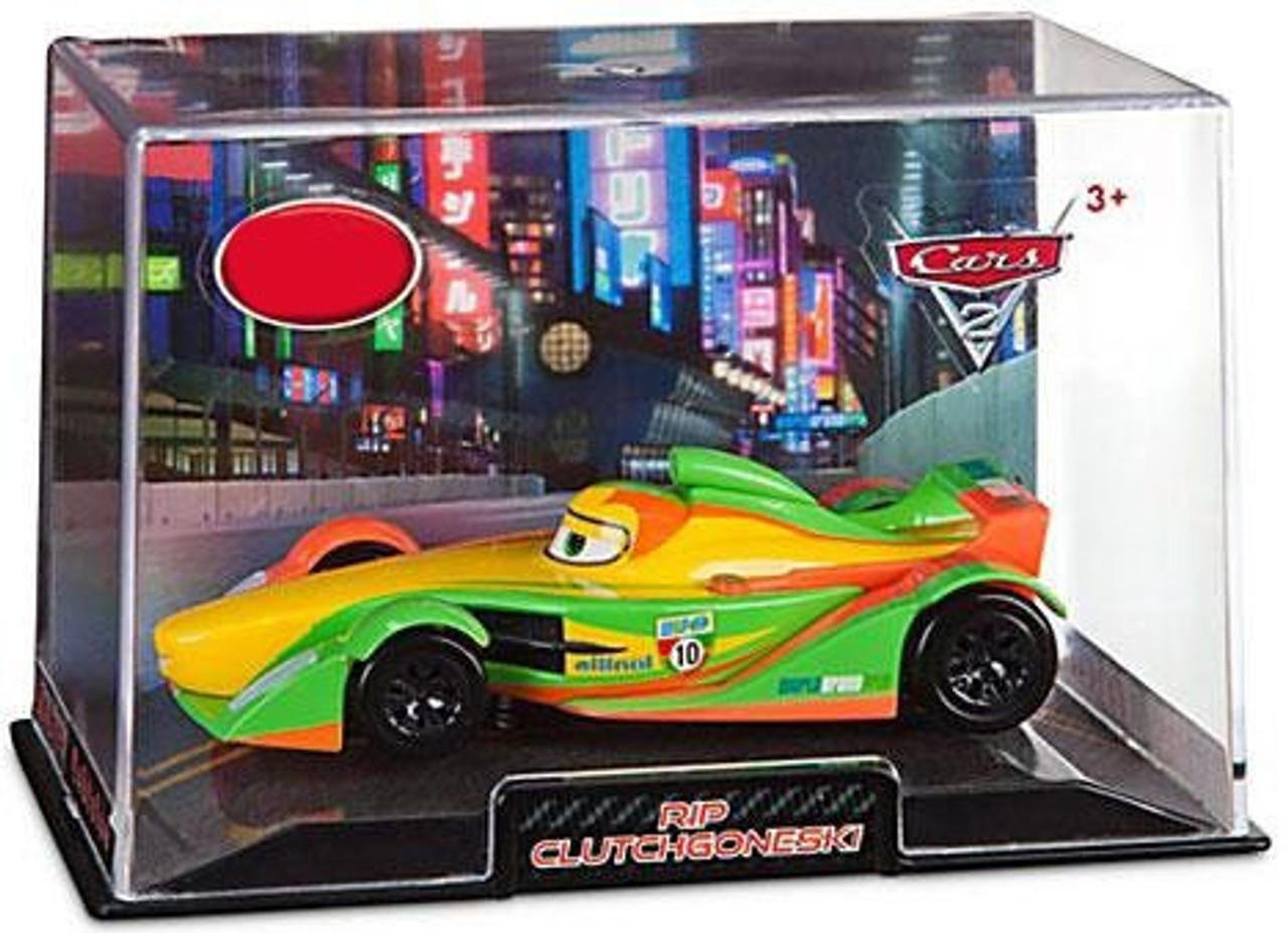 Disney Cars Cars 2 1:43 Collectors Case Rip Clutchgoneski Exclusive Diecast Car