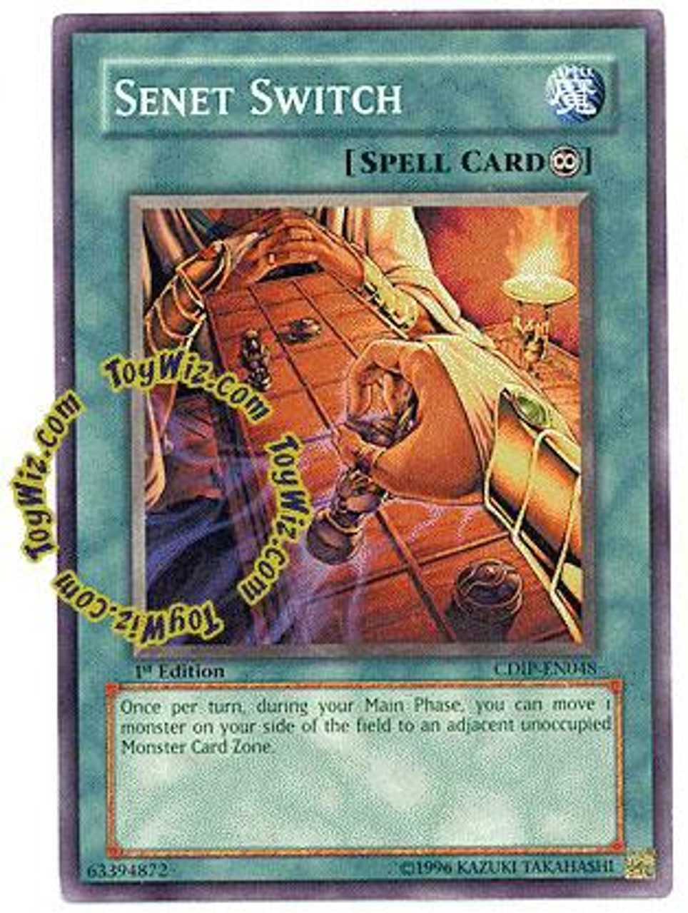 YuGiOh GX Cyberdark Impact Common Senet Switch CDIP-EN048