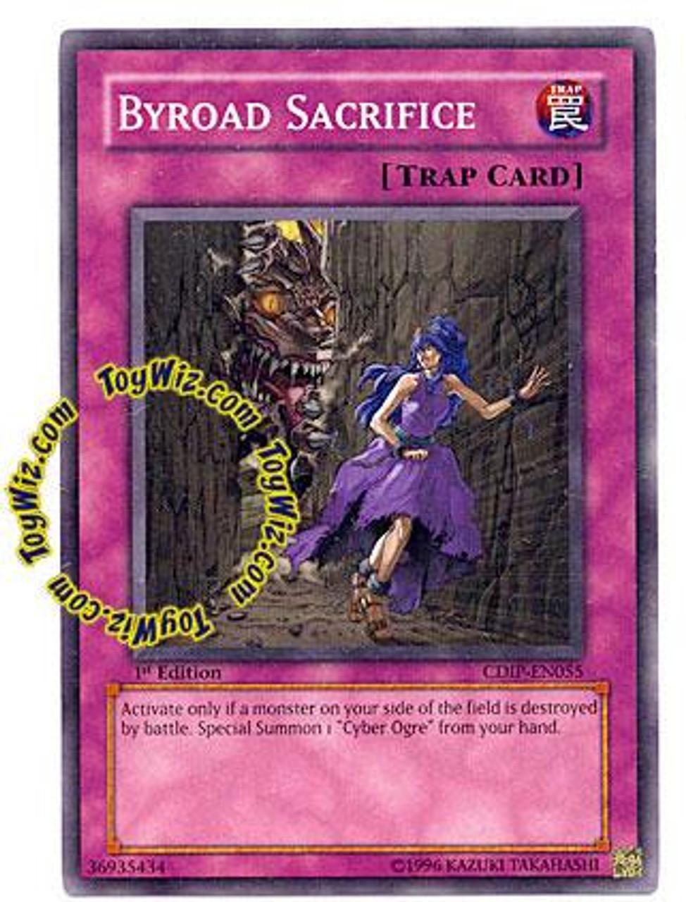 YuGiOh GX Cyberdark Impact Common Byroad Sacrifice CDIP-EN055