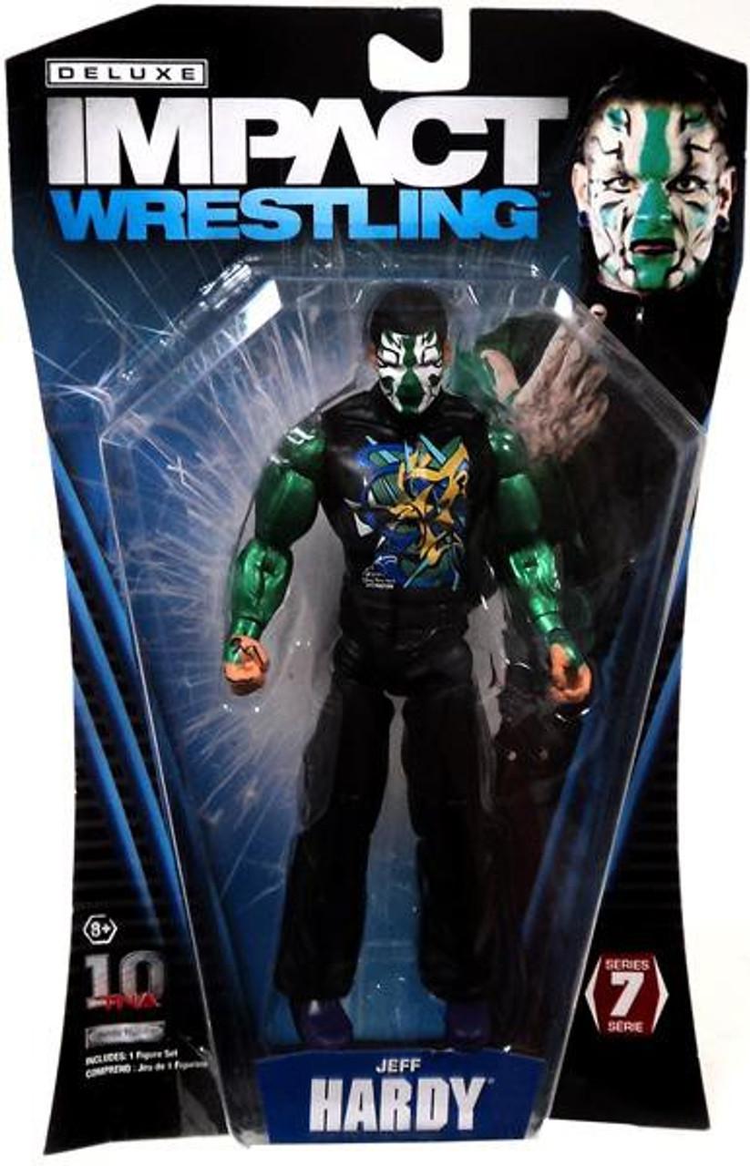 TNA Wrestling Deluxe Impact Series 7 Jeff Hardy Action Figure