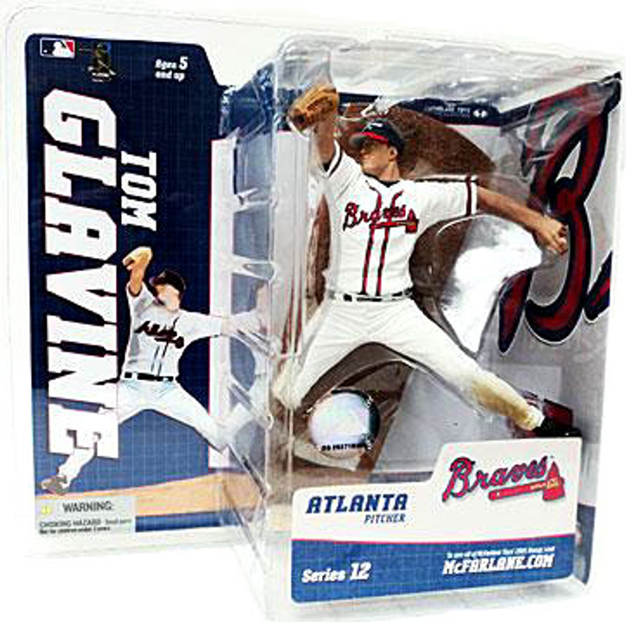 McFarlane Toys MLB Atlanta Braves Sports Picks Series 12 Tom Glavine Action Figure