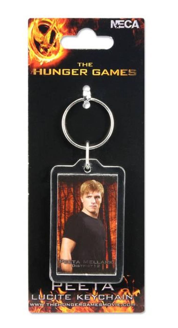 NECA The Hunger Games Peeta Keychain [Lucite]
