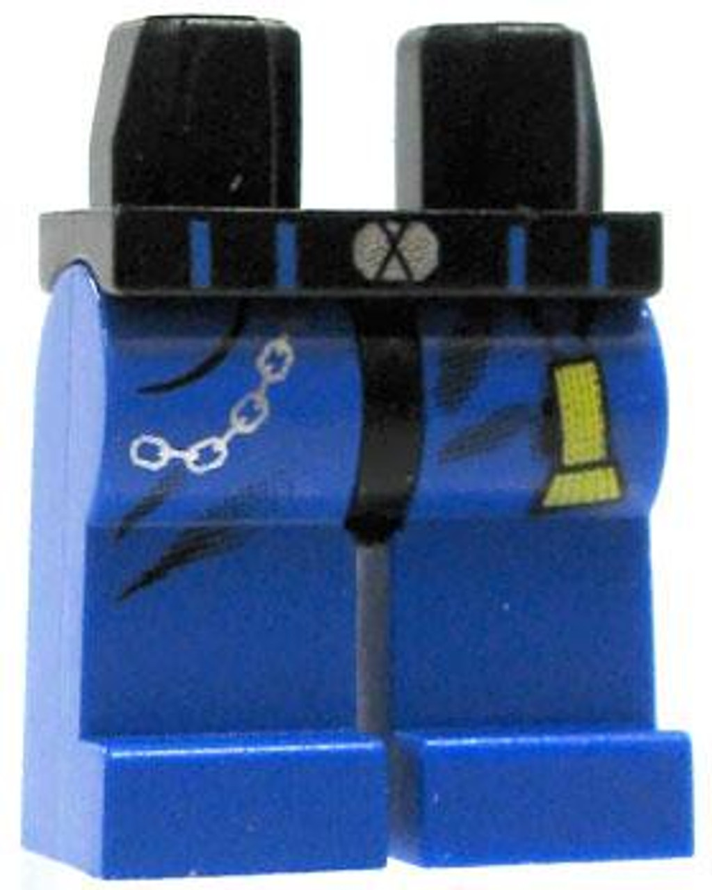 LEGO Blue Legs with Chain and Flashlight Loose Legs [Loose]