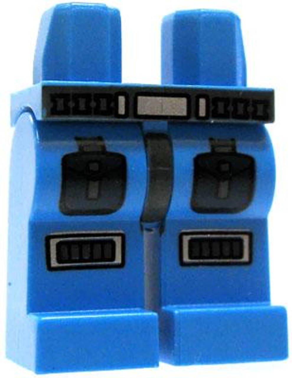 LEGO Light Blue Legs with Belt & Armored Details Loose Legs [Loose]