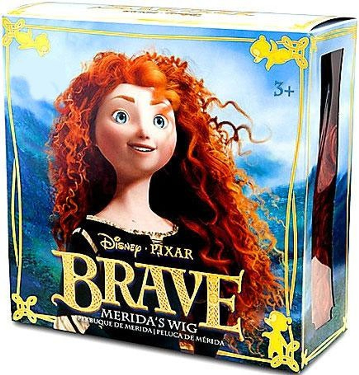 Disney / Pixar Brave Merida's Wig Exclusive Dress Up Toy [Random Package]