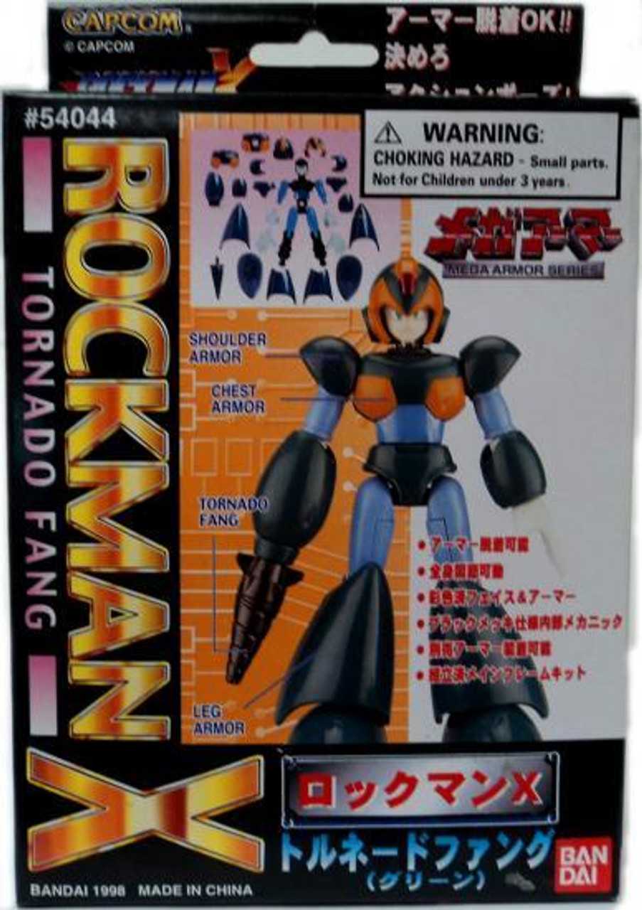 Mega Man X Mega Armor Series Tornado Fang Model Kit