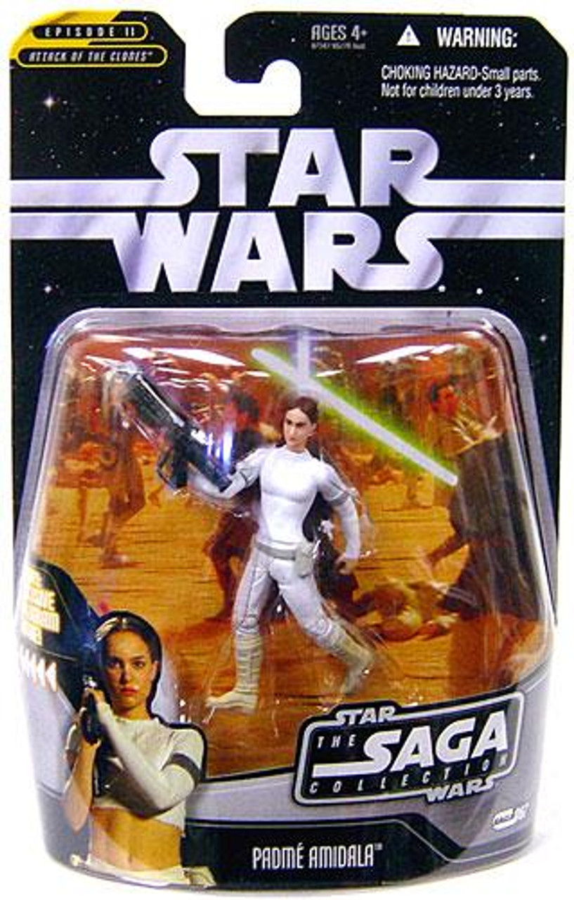 Star Wars Attack of the Clones Saga Collection 2006 Padme Amidala Action Figure #67
