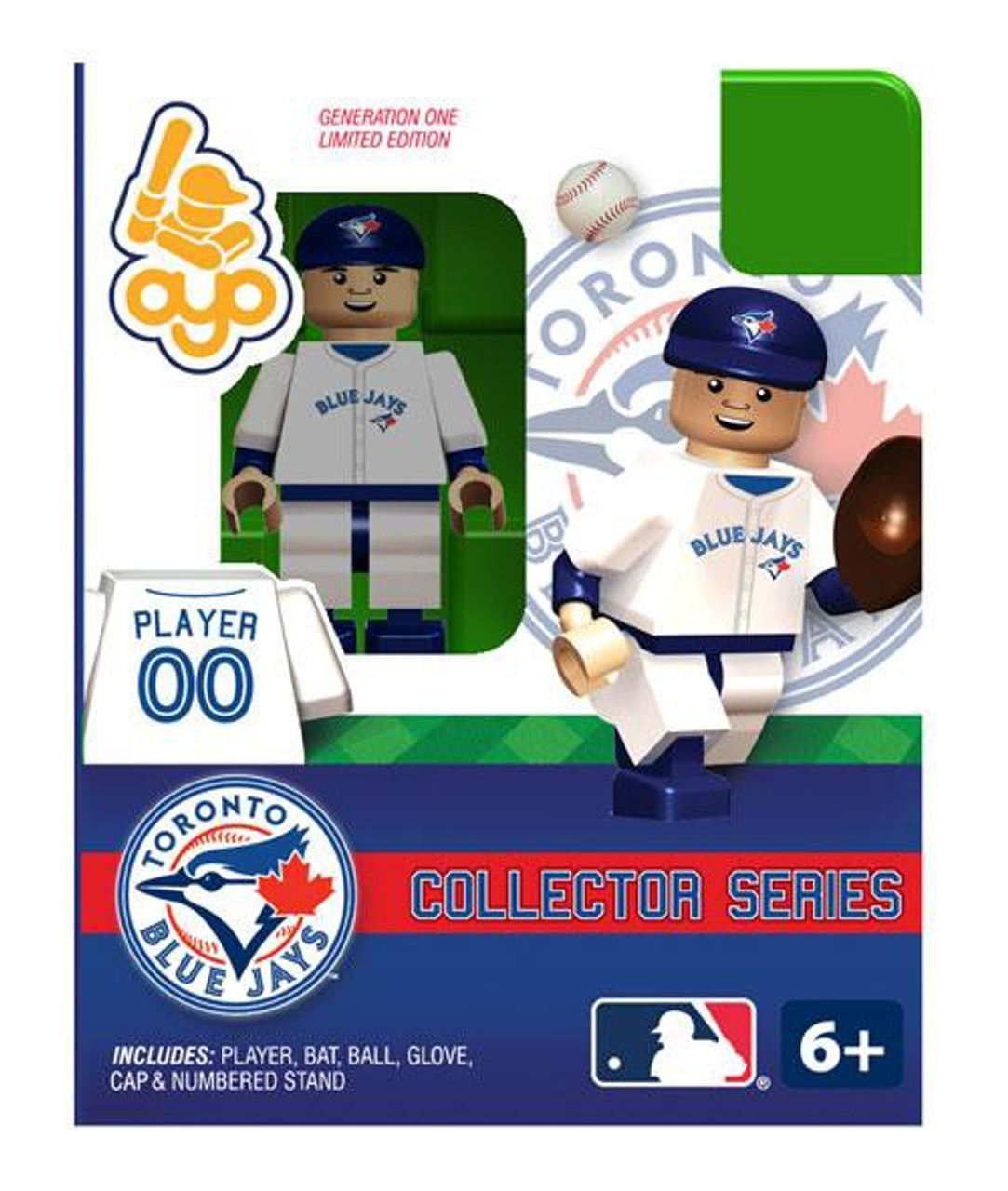 MLB Generation One Toronto Blue Jays Minifigure [Collector Series]
