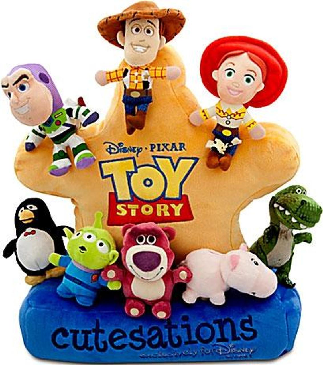Disney Toy Story 3 Cutestation Sheriff Badge Exclusive Plush