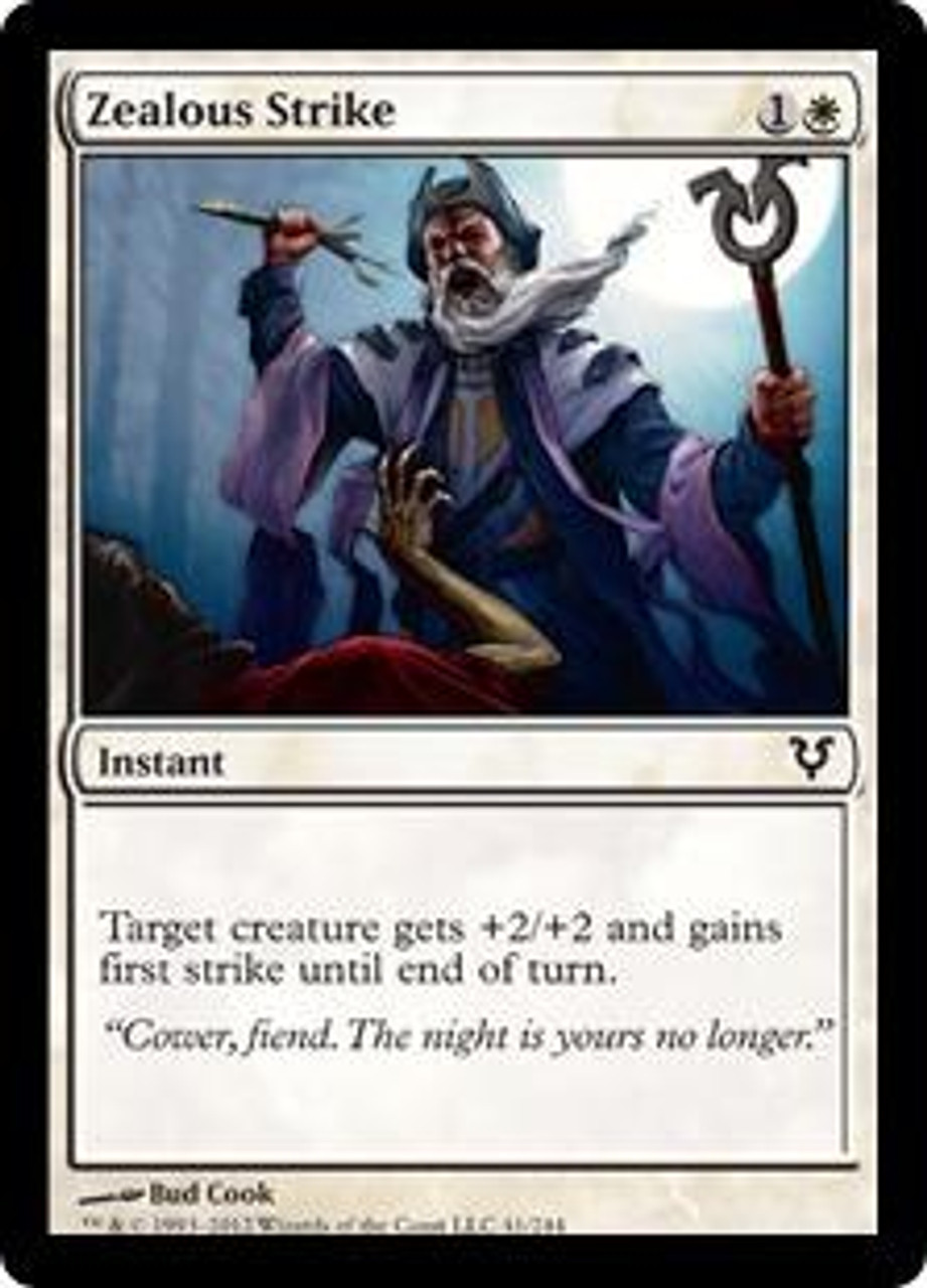 MtG Avacyn Restored Common Zealous Strike #41