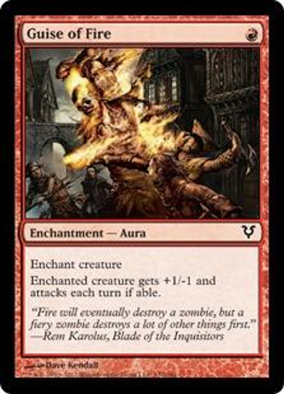 MtG Avacyn Restored Common Guise of Fire #137