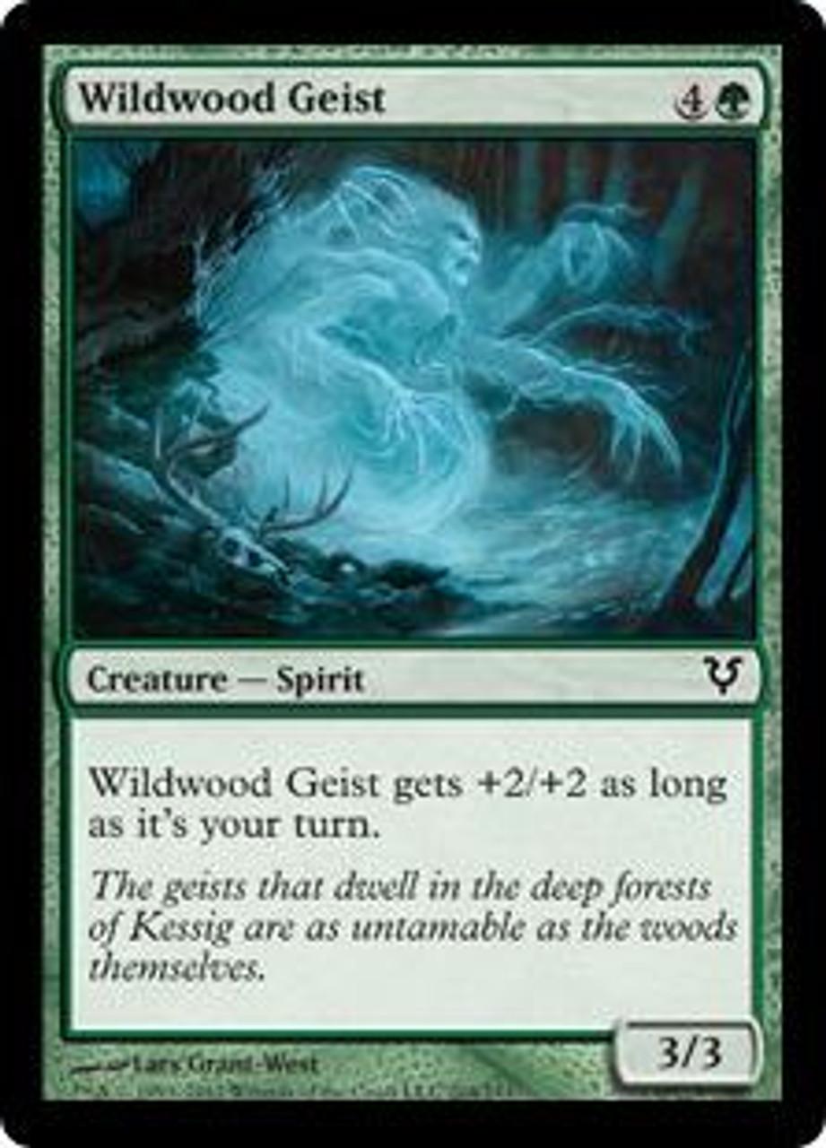 MtG Avacyn Restored Common Wildwood Geist #204