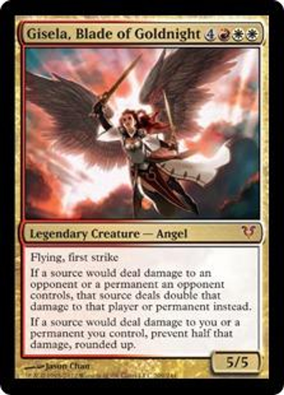 MtG Avacyn Restored Mythic Rare Gisela, Blade of Goldnight #209