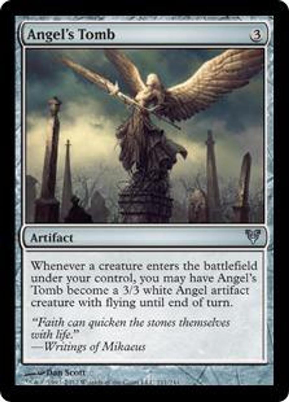 MtG Avacyn Restored Uncommon Angel's Tomb #211