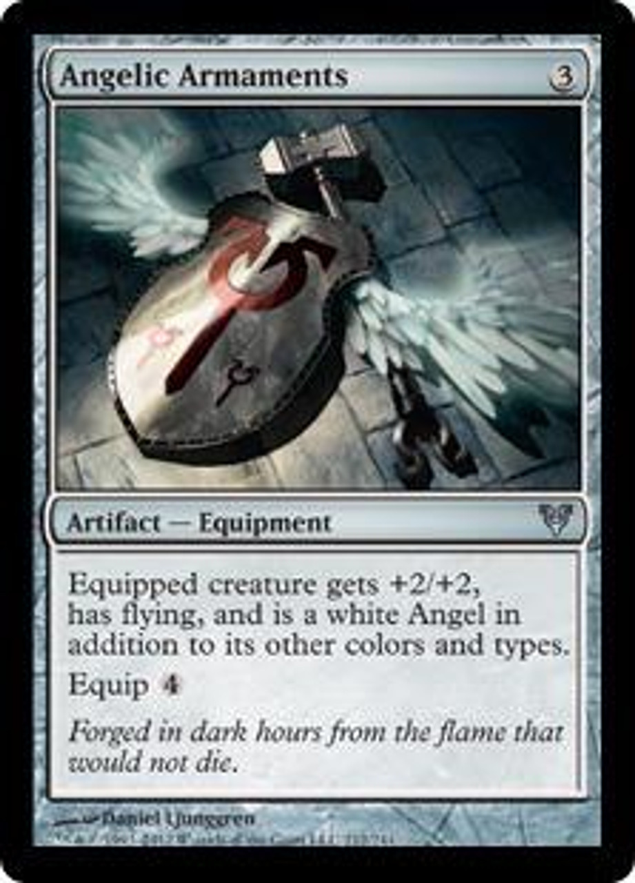MtG Avacyn Restored Uncommon Angelic Armaments #212