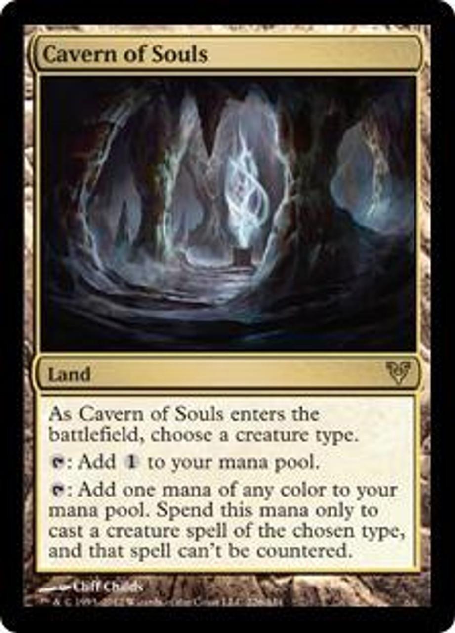 MtG Avacyn Restored Rare Cavern of Souls #226
