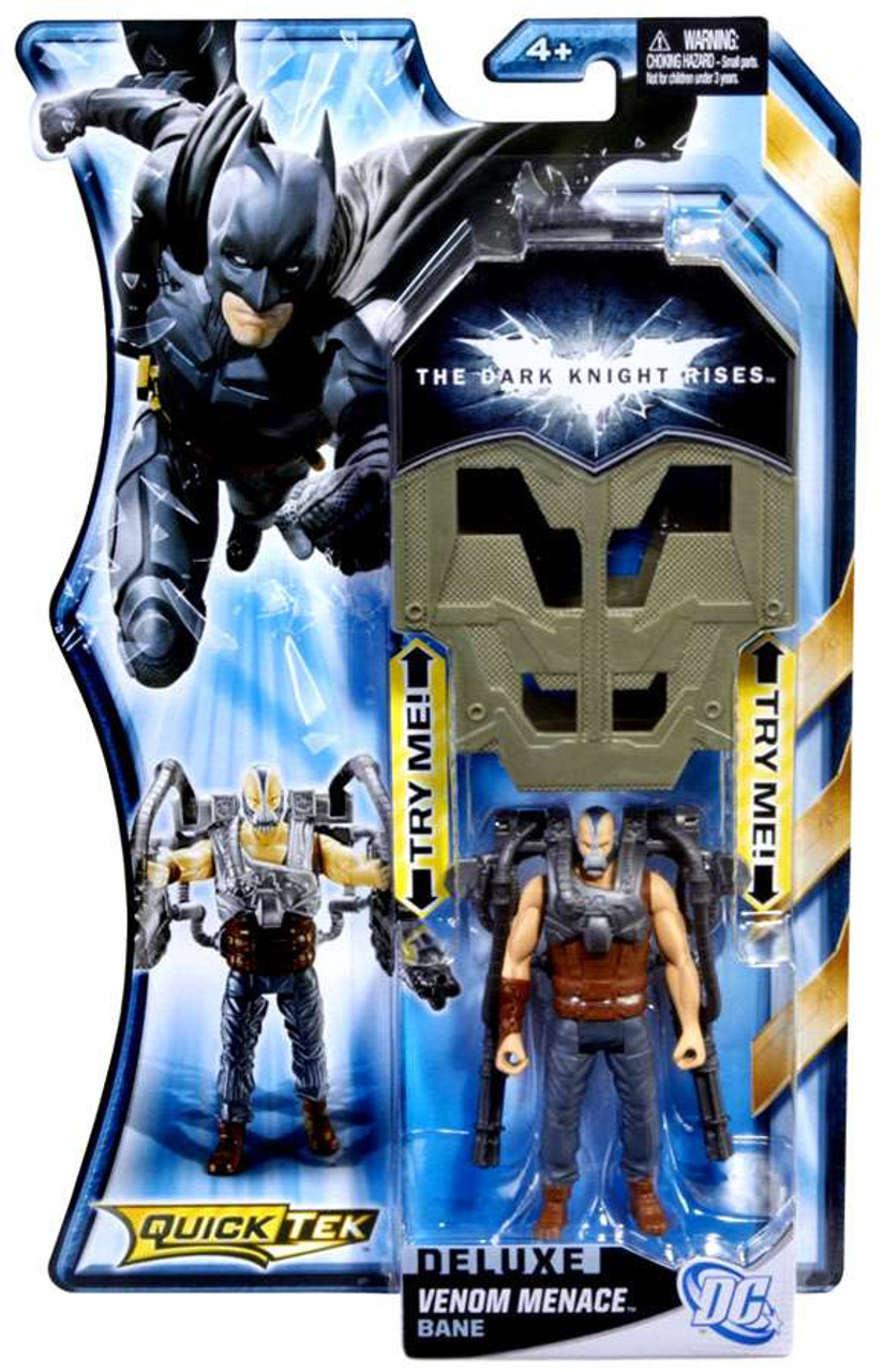 Batman The Dark Knight Rises QuickTek Ban Action Figure [Venom Menace]