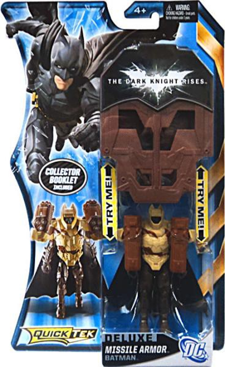 The Dark Knight Rises QuickTek Batman Action Figure [Missile Armor]