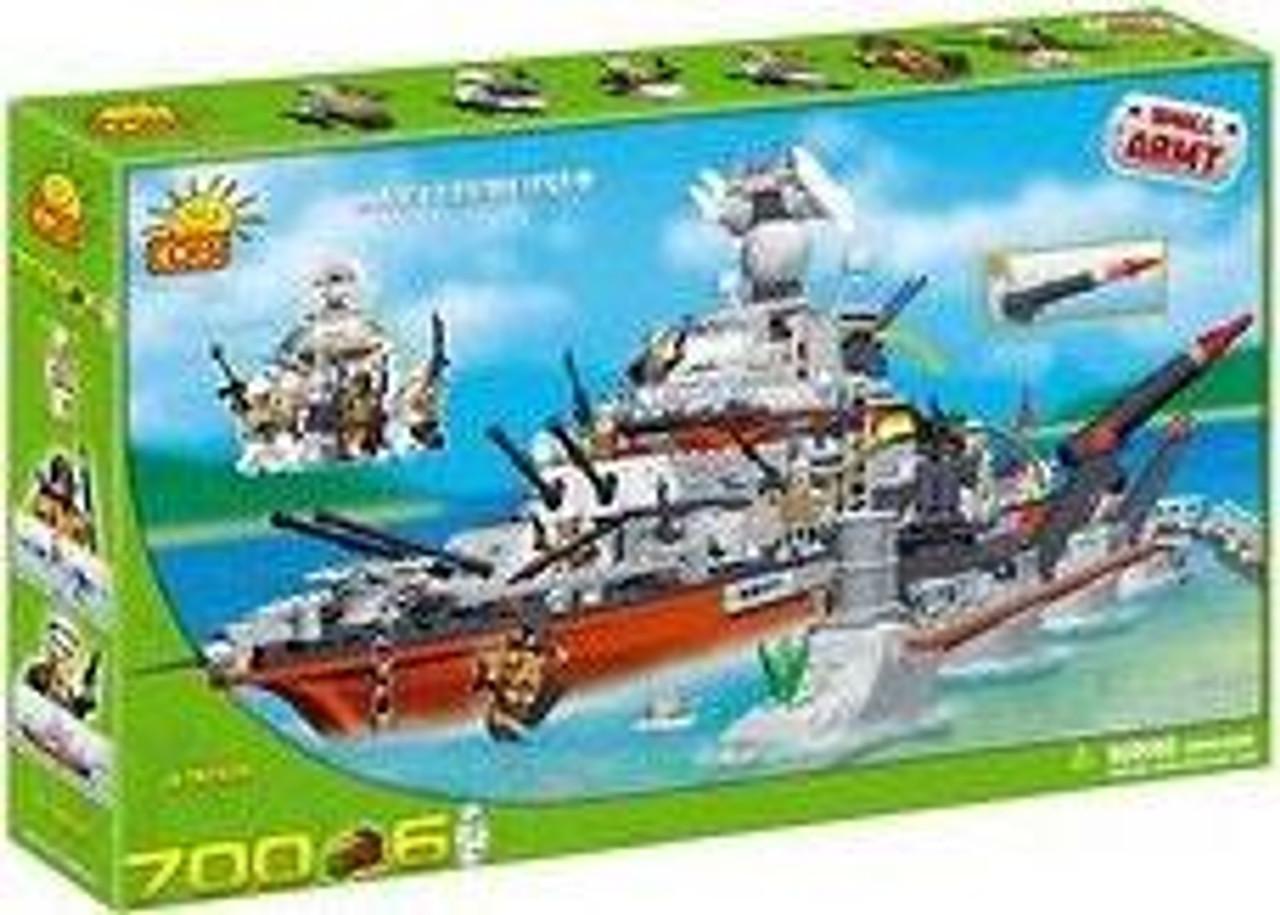 COBI Blocks Small Army Battlecruiser Set #4702