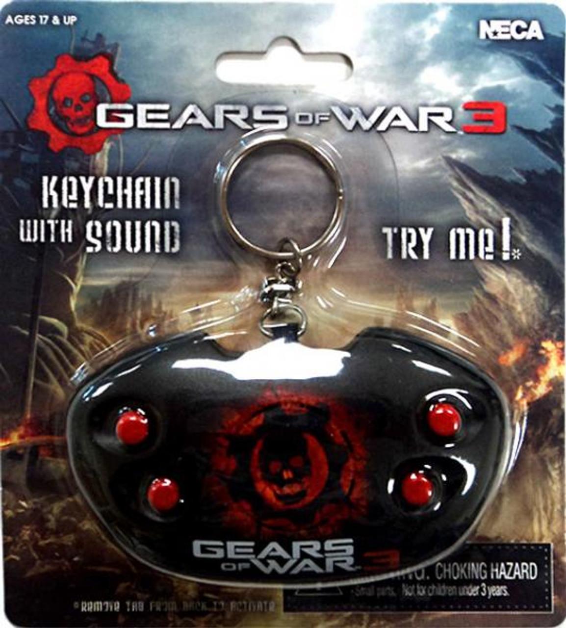 NECA Gears of War 3 Keychain [With Sound]