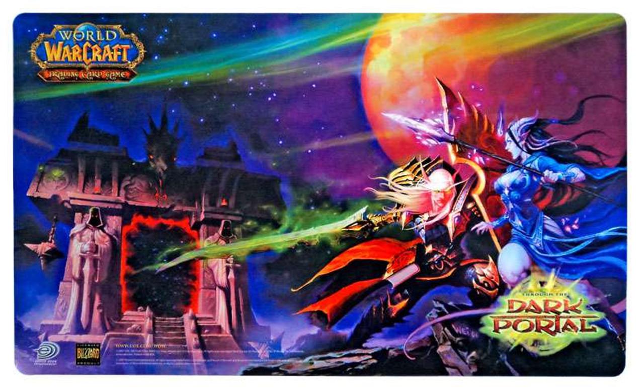 World of Warcraft Card Supplies Dark Portal Play Mat
