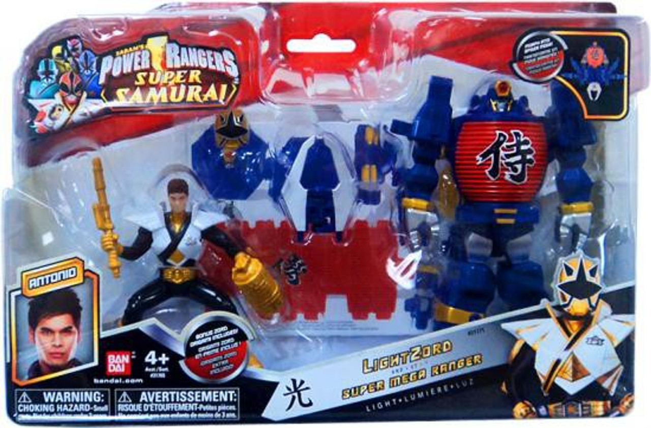 Power Rangers Super Samurai LightZord & Super Mega Ranger Antonio Action Figure [Light]