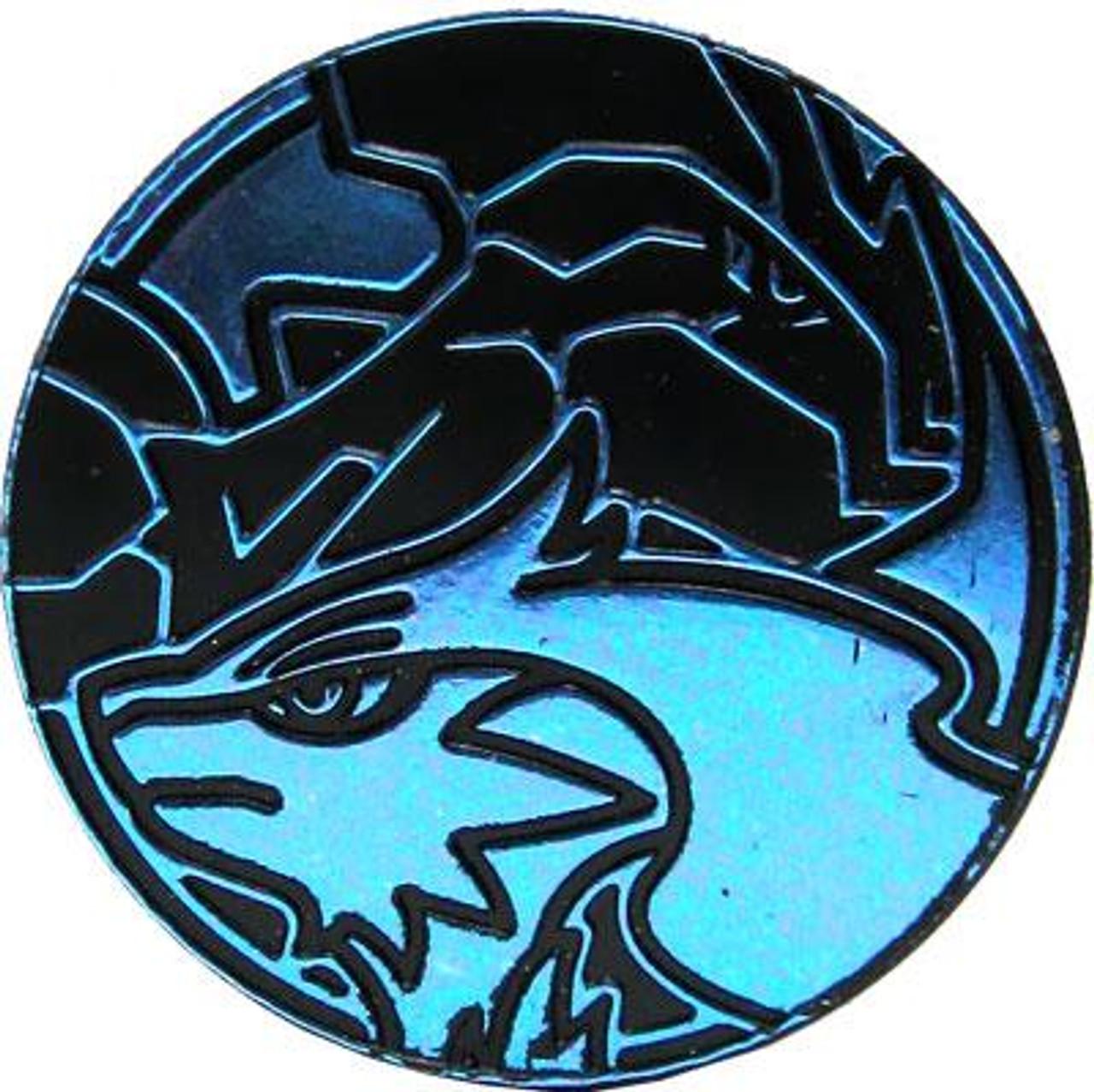 Nintendo Pokemon Zekrom & Reshiram Plastic Coin [Blue]