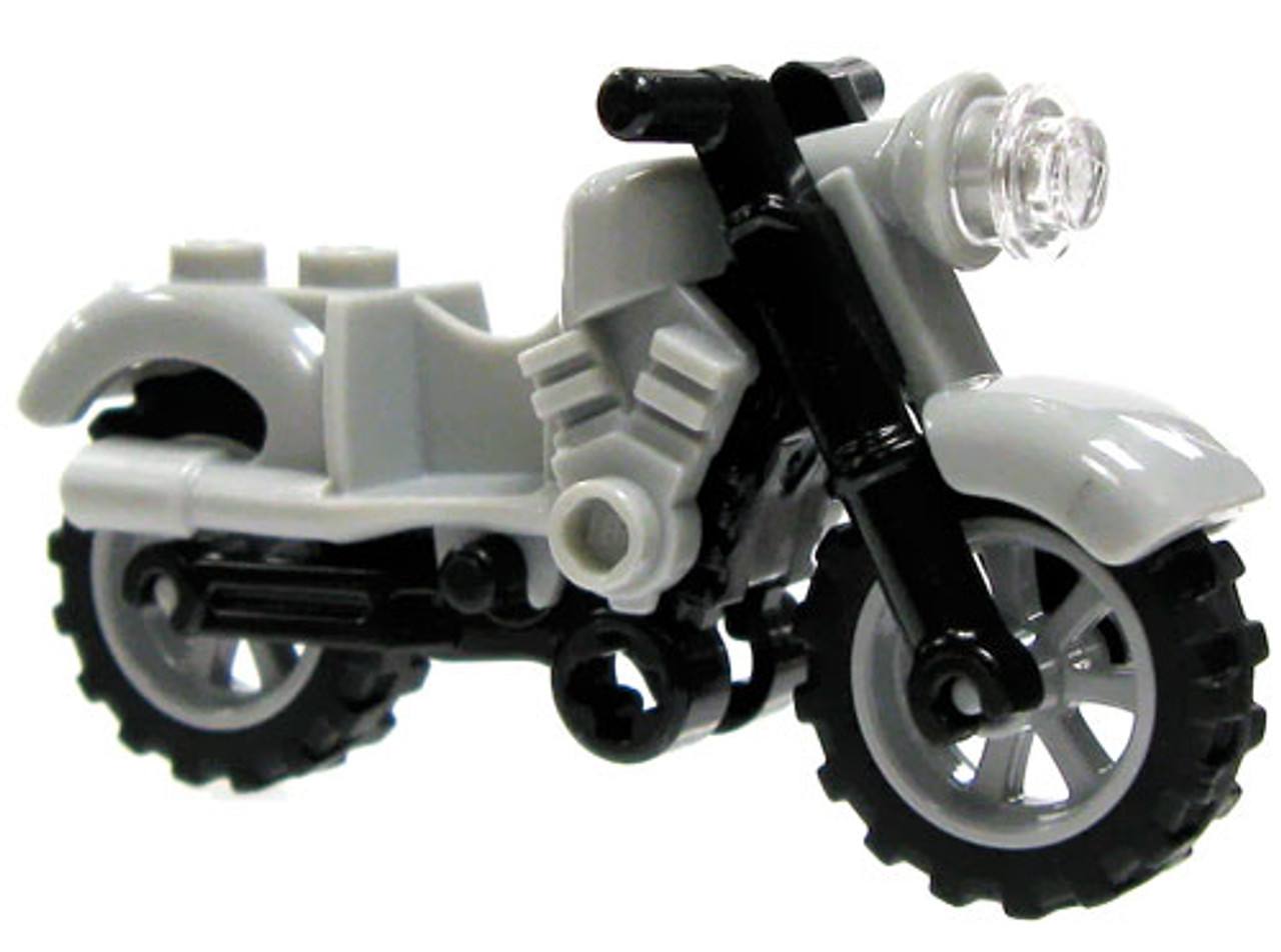 LEGO Marvel Super Heroes Gray Light Motorcyle Loose Vehicle #2 [Loose]