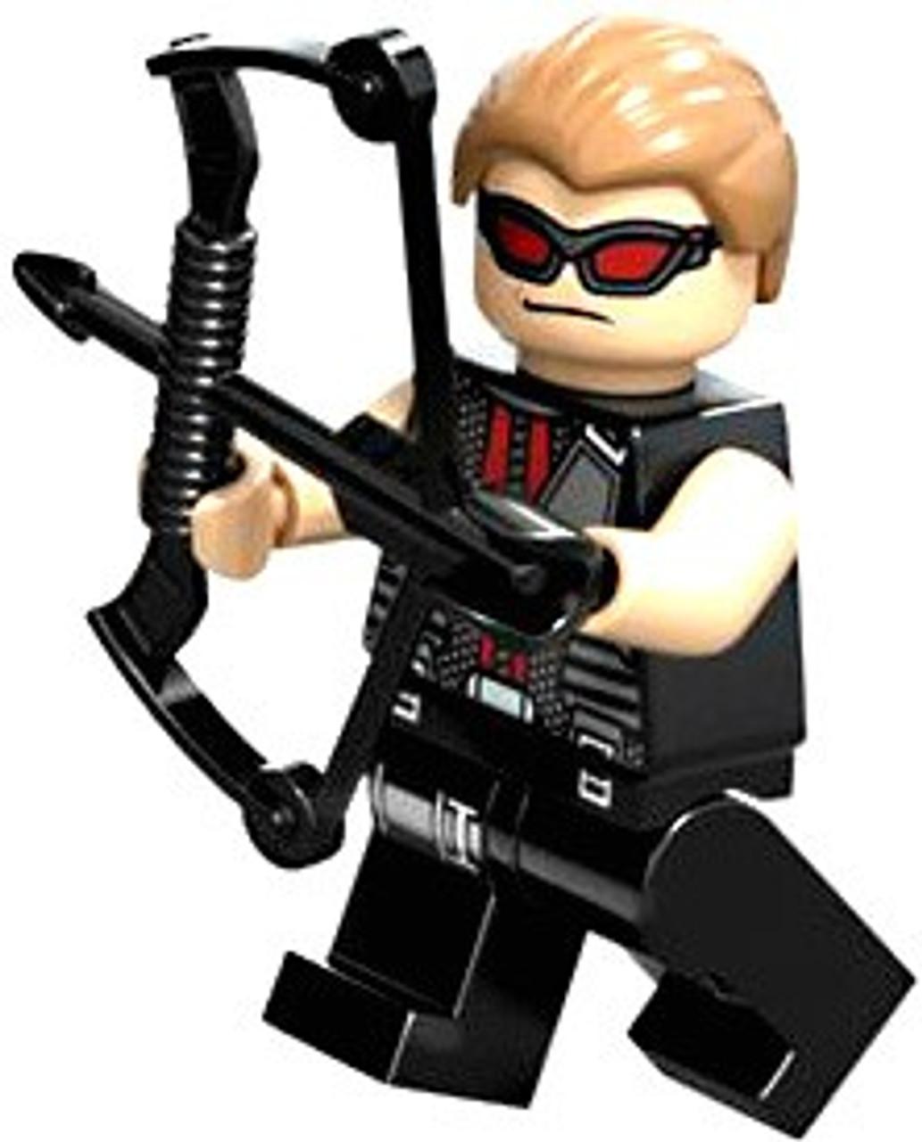 LEGO Marvel Super Heroes Loose Hawkeye Minifigure [Loose]