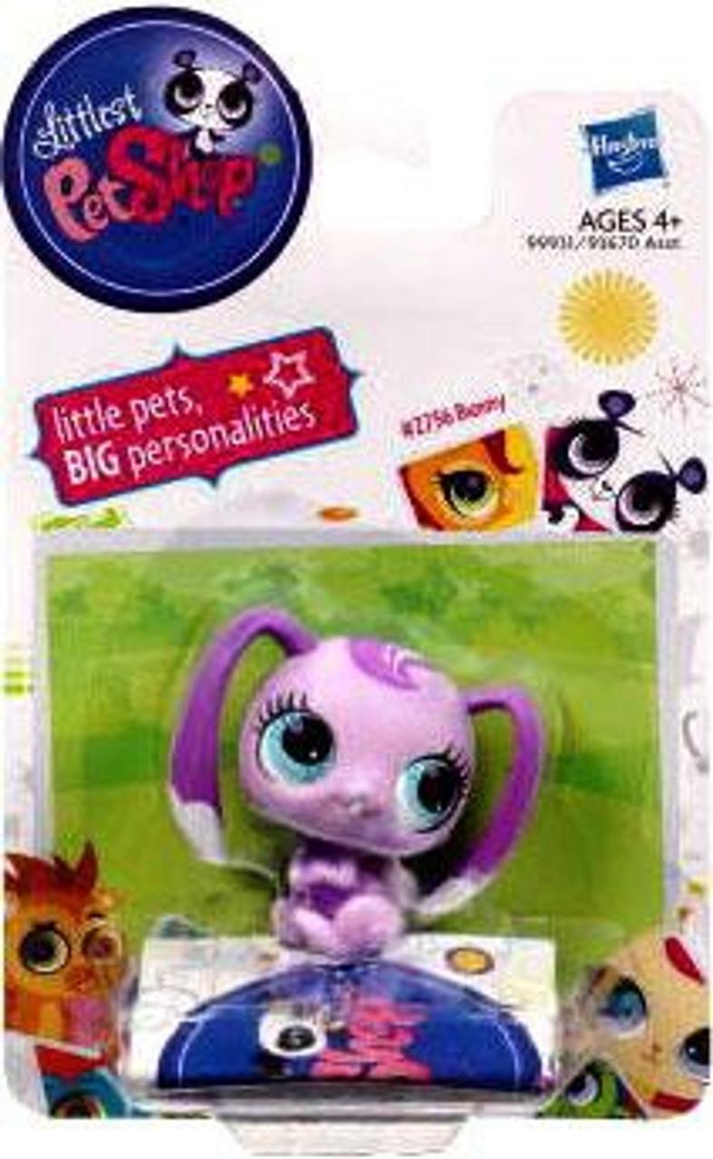 Littlest Pet Shop Bunny Figure #2756 [Purple]