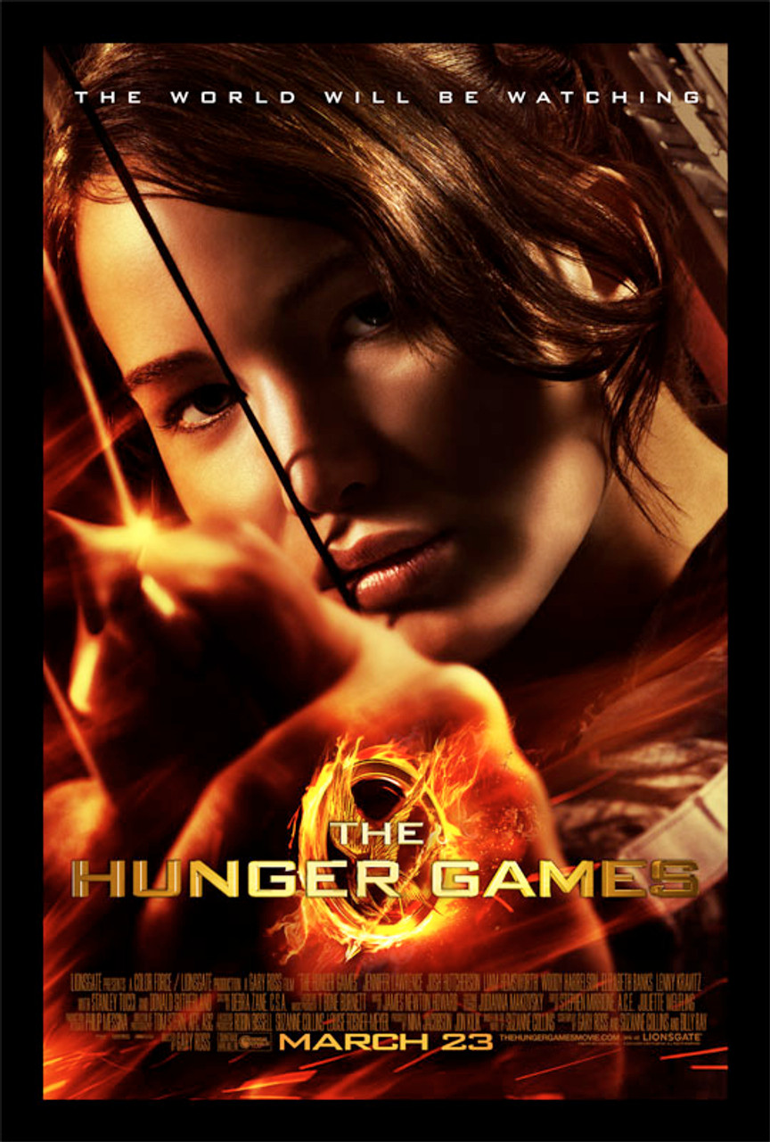 NECA The Hunger Games Katniss Aiming Movie Poster