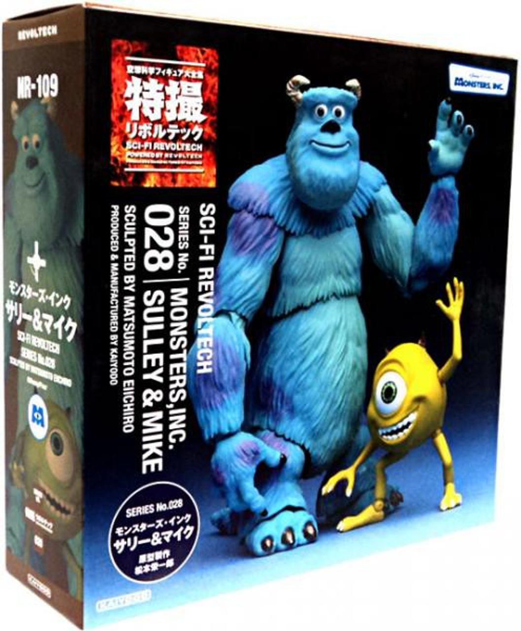 Disney / Pixar Monsters Inc Revoltech Sulley & Mike Action Figure 2-Pack #028
