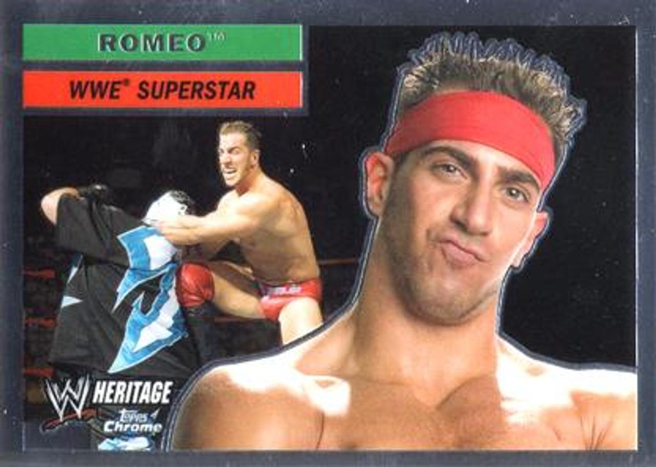 WWE Wrestling Topps Chrome 2006 WWE Heritage Superstar Romeo #55
