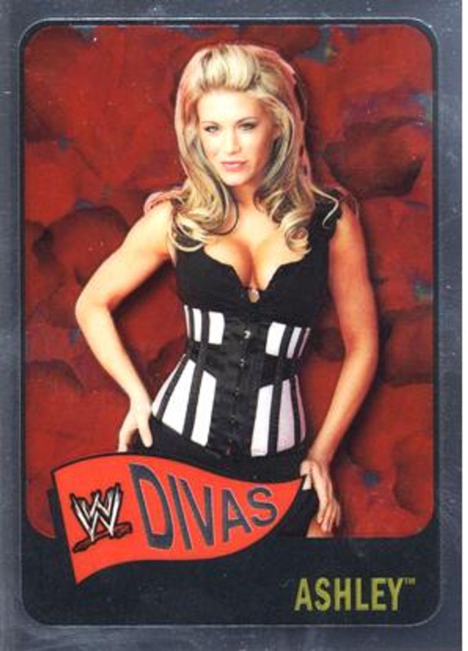 WWE Wrestling Topps Chrome 2006 WWE Heritage Divas Ashley #62