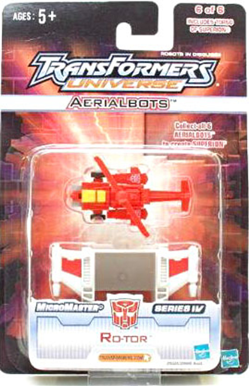 Transformers Universe Micromaster Series 4 Ro-Tor Action Figure