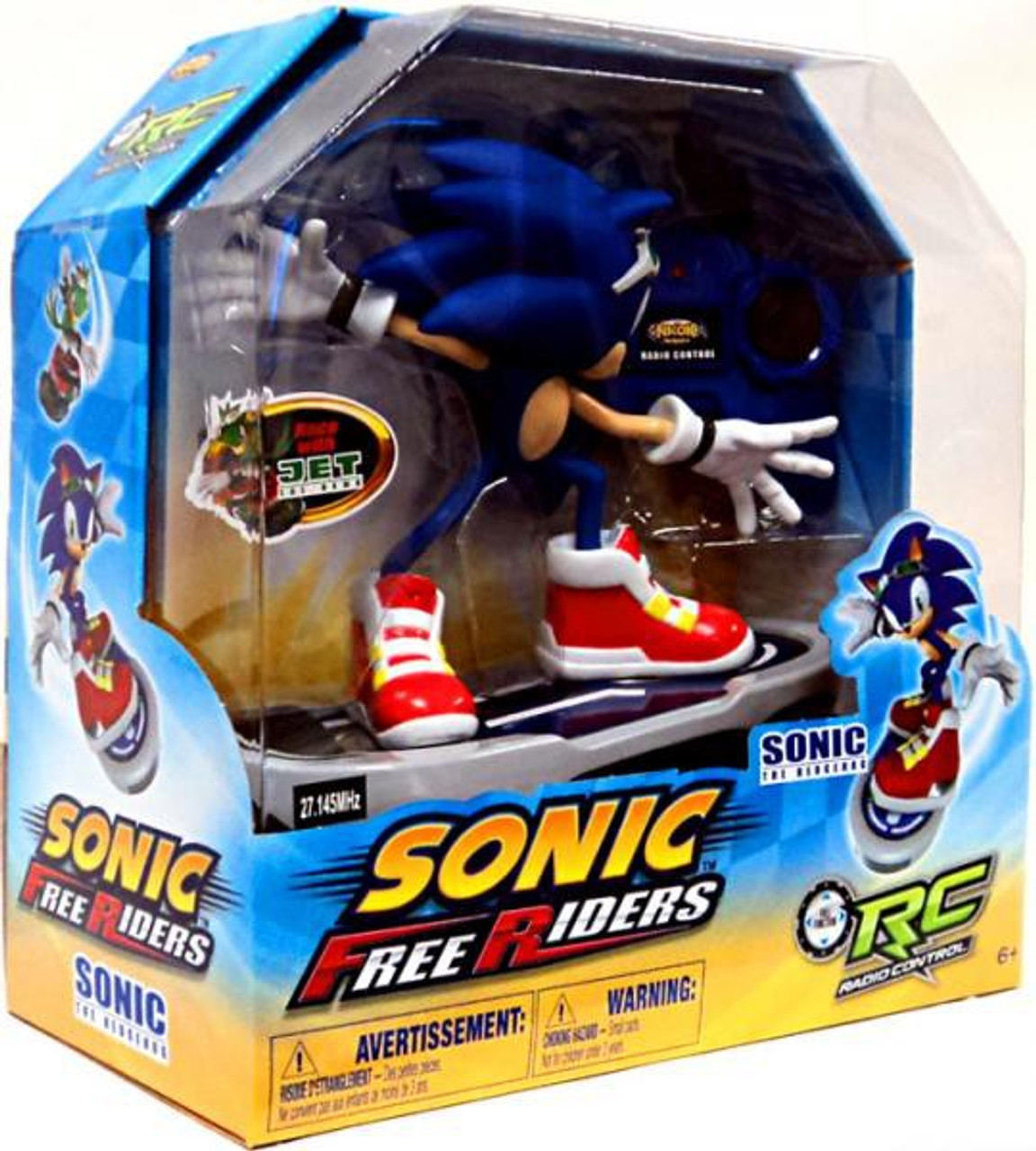 Free Riders Sonic the Hedgehog R/C Figure