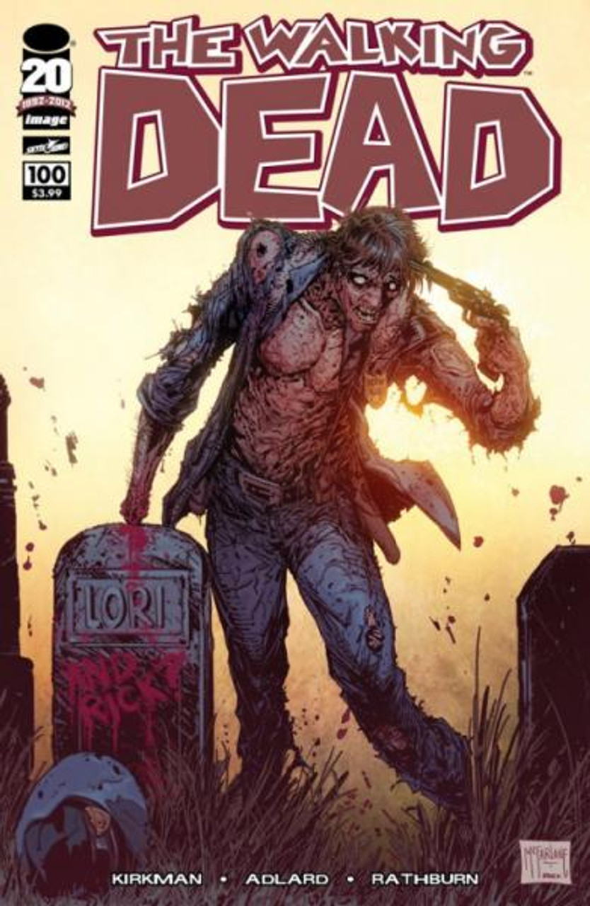 Image Comics The Walking Dead Comic Book #100 [Todd McFarlane Cover]