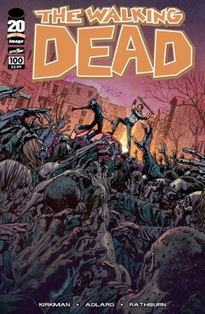Image Comics The Walking Dead Comic Book #100 [Bryan Hitch Cover]