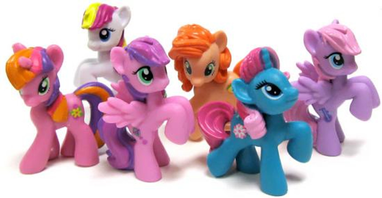 Friendship is Magic 2 Inch My Little Pony Special Edition Set of 6 PVC Figures
