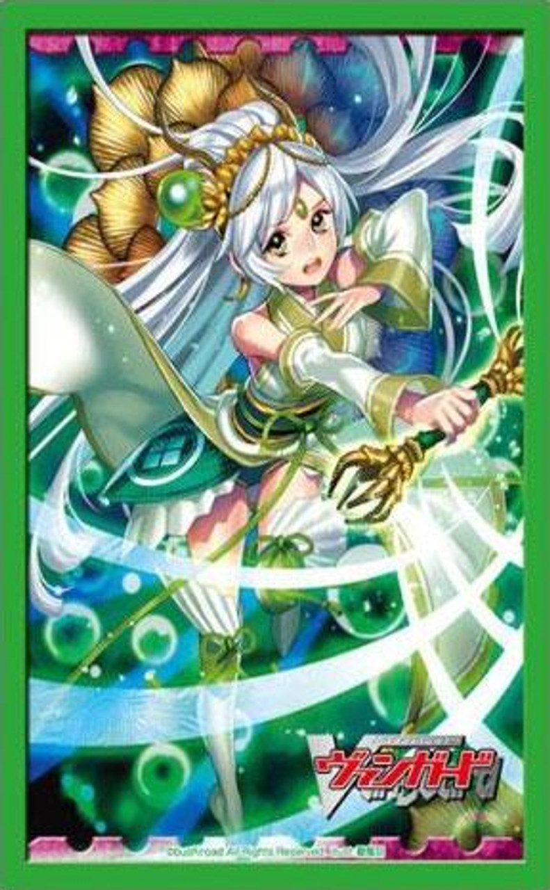 Cardfight Vanguard Japanese Card Supplies Emerald Witch Lala Card Sleeves [Japanese]
