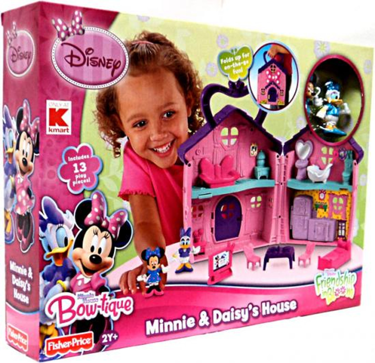 Fisher Price Disney Minnie Mouse Bow-tique Minnie & Daisy's House Exclusive Playset