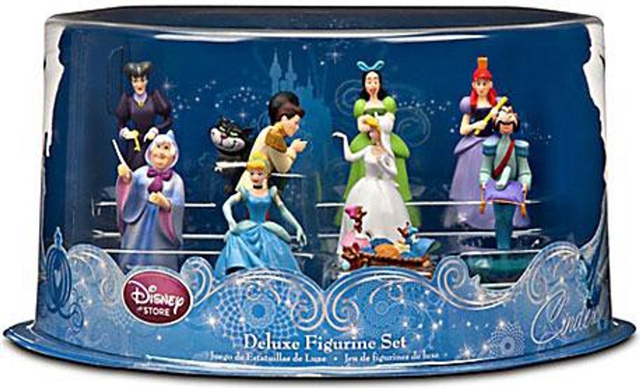 Disney Princess Cinderella Deluxe Figurine Set Exclusive