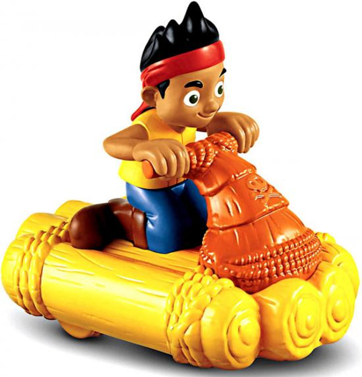 Fisher Price Disney Jake and the Never Land Pirates Pullback & Go Jake's Water Jet Racer Vehicle